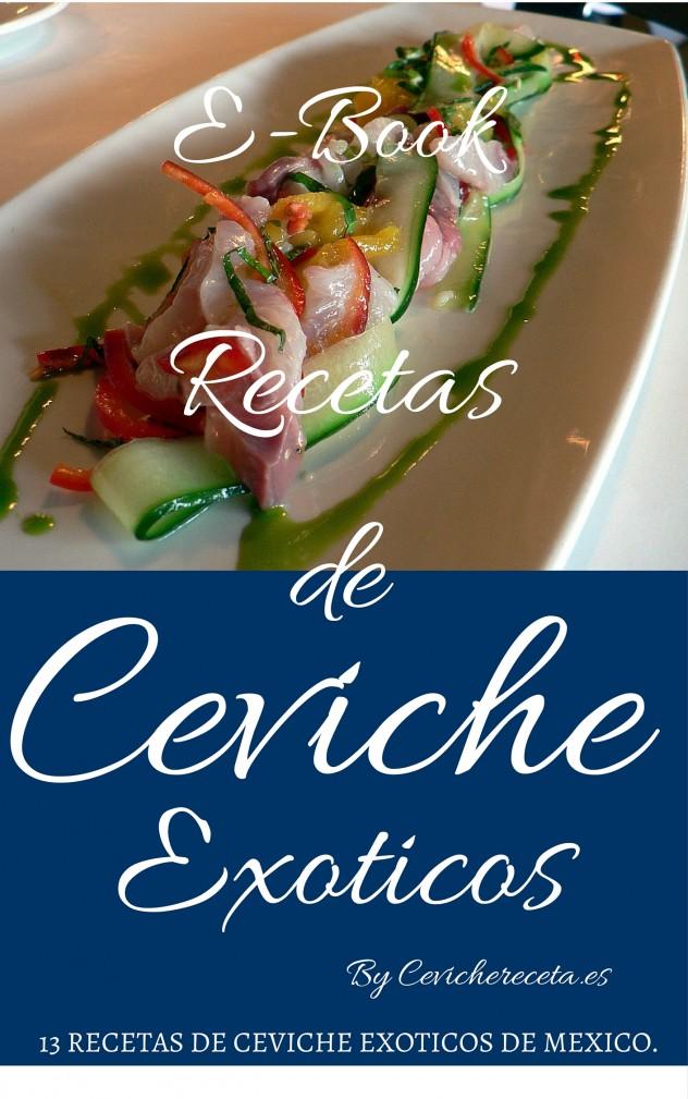 e-book Recetas ceviches exoticos