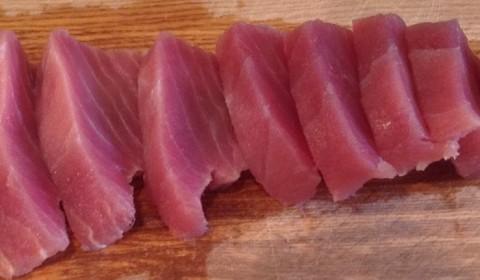 ceviche de pescado azul  atun
